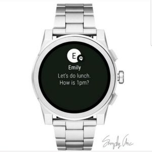 NWT authentic MK grayson touchscreen smartwatch